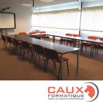 Caux Formatique, c'est aussi un espace formation dédié aux professionnels…