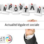 MATINALE D'INFORMATIONS  ACTUALITÉ LÉGALE ET SOCIALE