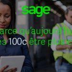 Sage 100c connecte votre entreprise !